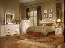 70% off Floor Model 3pc Washed Pine Bedroom Set in Beaufort, South Carolina