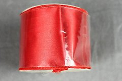 craft ribbon wired edge 2.5 inch x 9 feet red satin bows crafts wreaths new in Houston, Texas
