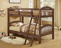 "Floor Model Twin/Twin ""Rustic"" Finish Bunkbed in Beaufort, South Carolina"