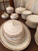Reduced .. Vintage K T & K China Knowles Taylor  .. Pink Rose Swag design in Bartlett, Illinois