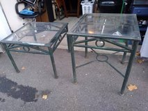 2 wrought Iron Tables in Sacramento, California