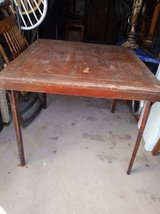 34 x 34 Canopy Table solid wood in Sacramento, California