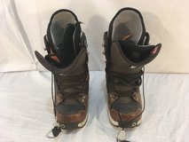 mens burton freestyle brown black us 6 uk 5 lace up snowboarding boots  01872 in Huntington Beach, California