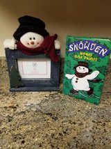 New snowman photo holder and note pad in Temecula, California