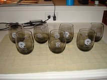 Set of  7 1970's NFL GREEN BAY PACKERS Smoked Glasses LARGE + BONUS 3 in Brookfield, Wisconsin