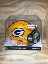 NFL Mini Green Bay Packers Riddle Collectors Helmet in Hopkinsville, Kentucky