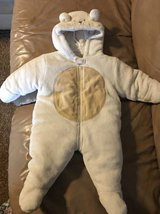 Baby Snowsuit/Bunting Size 6/9 Months in Joliet, Illinois