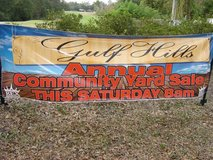 Gulf Hills Community Yard Sale: Sat. Nov. 11 in Keesler AFB, Mississippi
