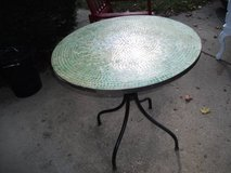 MOSAIC TABLE GREEN   WHITE TILES in Naperville, Illinois