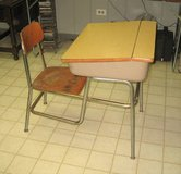 VINTAGE 1950's - 1960's Child's School Desk in Joliet, Illinois