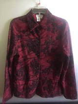 Women's button down Blouse Coldwater Creek size M in Naperville, Illinois
