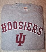 NWOT Indiana Hoosiers Gray Tee, Gildan Cotton, Small in Aurora, Illinois