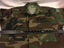 cold weather starched woodland bdu small long jacket top airsoft  01991 in Fort Carson, Colorado