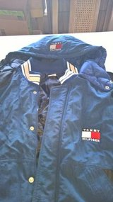 Tommy Hilfiger Winter Jacket with hood - Large in Cherry Point, North Carolina