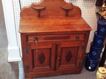 Antique Oak Wash Stand (Eatonton) in Warner Robins, Georgia