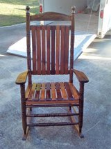 Solid Wood Rocking Chair in Warner Robins, Georgia