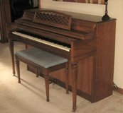 VINTAGE KIMBALL ELECTRAMATIC CONSOLETTE PLAYER PIANO in Wheaton, Illinois