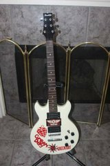 Ibanez Gio GAX70 White Electric Guitar - Green Day in Kingwood, Texas