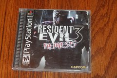PS1 Resident Evil 3 Black Label Complete in Kingwood, Texas
