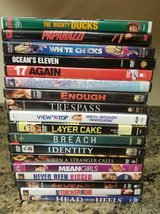 18 DVD lot in Oceanside, California