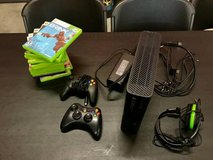 Xbox 360 Console Lot - 2 Controllers, Headset, and 13 Games in Camp Lejeune, North Carolina