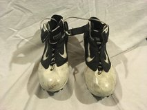 mens nike air lt superbad black white 11.5 lace up athletic sports cleats  02031 in Fort Carson, Colorado