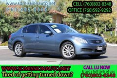 2008 Infiniti G35 Base Ask for Louis offer expires today (760)802-8348 in Camp Pendleton, California
