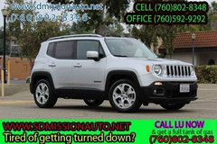 2015 Jeep Renegade Limited Ask for Louis (760) 802-8348 in Camp Pendleton, California