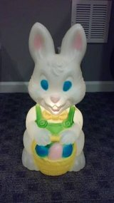 VINTAGE EASTER BUNNY BLOW MOLD in Plainfield, Illinois