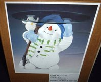 Like New! Holiday / Christmas Snowman Table Server in Wheaton, Illinois