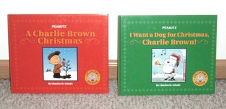 RARE Lot of 2 Peanuts Collectors Edition Christmas Books Charlie Brown I Want A Dog in Joliet, Illinois