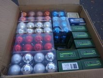 Box of Christmas Lights and Bulbs in Travis AFB, California