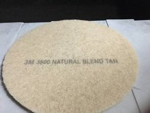 "3M 3500 20"" TAN FLOOR CLEANING PADS CASE OF 5 in Chicago, Illinois"