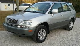 Lexus RX300 V6 Auto 4wd Loaded Sunroof Leather Service Records 120k Mi in Cherry Point, North Carolina