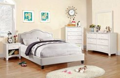 New White California King Size Bed Frame FREE DELIVERY in Camp Pendleton, California