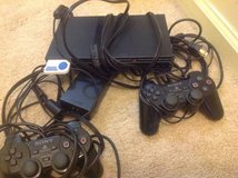 PlayStation 2 with 10 Games in Fort Belvoir, Virginia