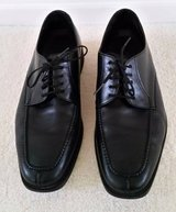 HIGH QUALITY MEN'S LEATHER SHOES 9.5 WIDE IN EXCELLENT CONDITION in Saint Petersburg, Florida