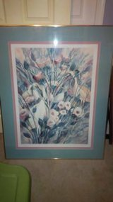 Watercolor Painting - Professionally Framed and Matted in Fairfax, Virginia