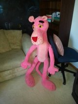 4+ ft Pink Panther stuffed animal in Batavia, Illinois