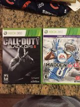 Call of Duty Black Ops / Madden 13 XBOX in Westmont, Illinois