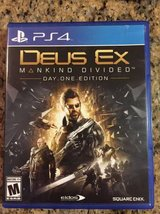 Dues Ex Mankind Divided - PS4 in St. Charles, Illinois