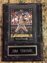 Jim Thome plaque in Naperville, Illinois