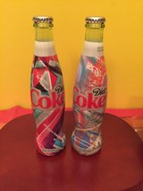 2016 diet coke glass 2 bottles - 12 fl oz - unopened COLLECTIBLE in Chicago, Illinois