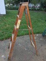 "2 Wooden Ladders - same -  5 foot tall -  60"" in Schaumburg, Illinois"