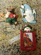 3 cute holiday ornaments in Camp Pendleton, California