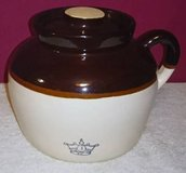 VINTAGE CROCK WITH LID 3 QT. in Naperville, Illinois