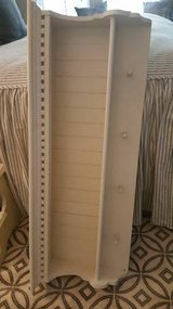 Wood Shelf with Dentil Molding and Pegs in Beaufort, South Carolina