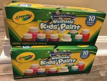 2 boxes Crayola Kids' Paint Washable 10ct  - New in Naperville, Illinois