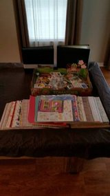 SCRAPBOOKING SUPPLIES HUGE LOT PAPER ALBUMS STICKERS in Palatine, Illinois