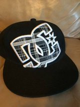 DC fitted hat 7 1/8 new in Joliet, Illinois